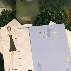 🥂👑Swanky Party Invites & Stationary thank you